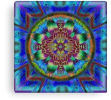 Faith Mandala Canvas Print