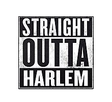 straight out of harlem Photographic Print