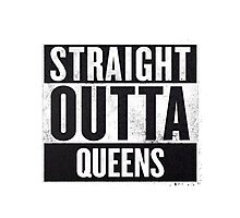 straight out of queens Photographic Print