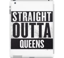 straight out of queens iPad Case/Skin