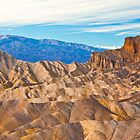 Zabriskie Point - Death Valley by Rick Gustafson