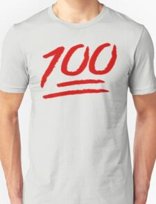 100 emoji  T-Shirt