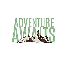 Adventure Awaits by designsbyame