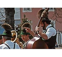 Music Man - Berchtesgaden Germany  -1985 Photographic Print