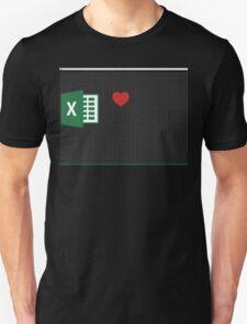 Spreadsheet Love T-Shirt