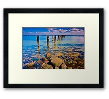 The Dell at Clifton Springs #3 Framed Print