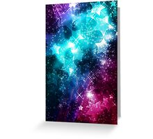 Galaxy Stars Space Greeting Card