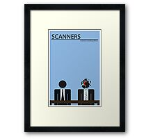 Scanners Movie Poster (30 Years Old in 2011) Framed Print