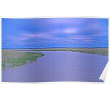 Beaufort, SC Marsh Poster