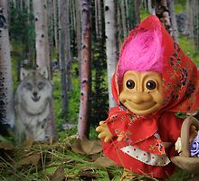 Little Red Riding Troll by Sue  Cullumber