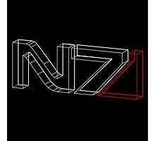 N7 in 3D Photographic Print