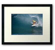 Kelly Slater's Ten Point Ride Framed Print