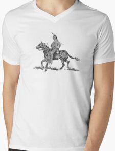 Spirit of the Elders / Big Bulll  Mens V-Neck T-Shirt