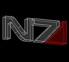 N7 in 3D - 2 by andymania