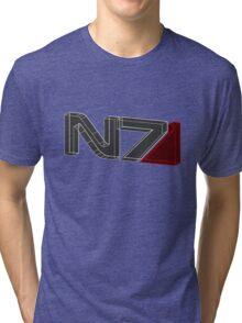 N7 in 3D - 2 Tri-blend T-Shirt