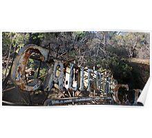 California - Neon Poster