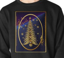 Seasons Greetings Soft Tree Poster Pullover