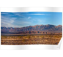 Funeral Mountains - Death Valley Poster