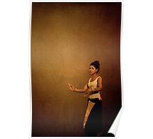 Siem reap culture village - Khmer dance 02 Poster