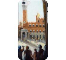 Admiring Siena (Italy) iPhone Case/Skin