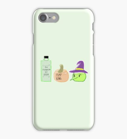 monster perfume pattern iPhone Case/Skin