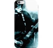guitarist plays on the electric guitar iPhone Case/Skin