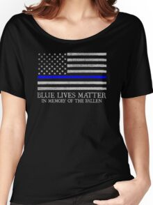The Blue Line Women's Relaxed Fit T-Shirt