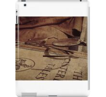 Reading The Classics The Classic Way iPad Case/Skin
