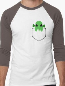 Pocket Cthulhu Men's Baseball ¾ T-Shirt
