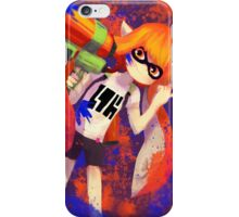 ORANGE INKLING iPhone Case/Skin