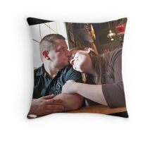 Mercy & Clay - Engagement  (VII) Throw Pillow