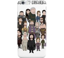 Game of Burgers iPhone Case/Skin