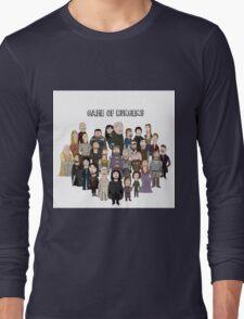 Game of Burgers Long Sleeve T-Shirt
