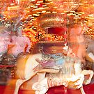 """Carousel Dreams"" - merry go round at Spring Green, WI by ArtThatSmiles"