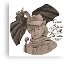 Once Upon A Time - Maleficent Canvas Print