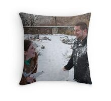 Mercy & Clay - Engagement  (XXIX) Throw Pillow