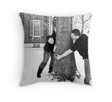 Mercy & Clay - Engagement  (XXXI) Throw Pillow