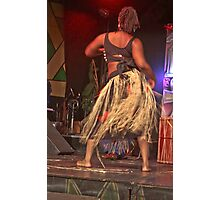 African Dancer  Photographic Print