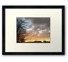 Sunset 7 Framed Print