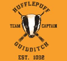 TShirtGifter Presents: Hufflepuff Quidditch Athletic Tee Harry Potter Shirt