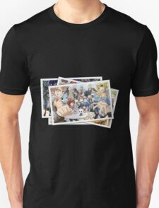 fairy tail guild erza natsu lucy pictures anime manga shirt T-Shirt