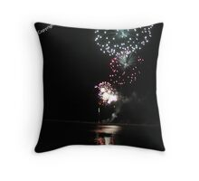 Fireworks, Harrington NYE 2010 Throw Pillow