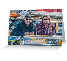 Bash 2015 Two and a half men Greeting Card