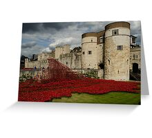 Tower of London Remembers Greeting Card