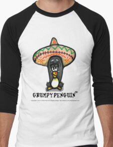 Grumpy Penguin Paco Men's Baseball ¾ T-Shirt
