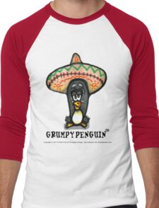 Grumpy Penguin Paco Men's Baseball ¾ T-Shirt