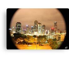 Brisbane City NYE Canvas Print