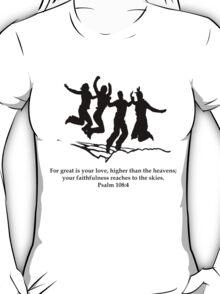 The Jump Black T-Shirt