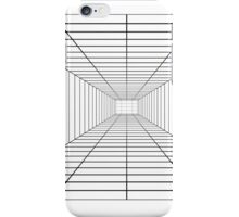 Perspective Grid - Space Station - Lines Graph Infinity Duvet Cover iPhone Case/Skin
