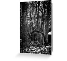 Old Shed - Scotland Greeting Card
